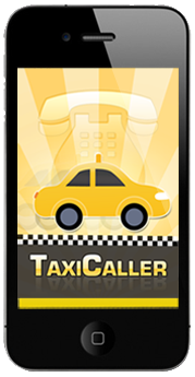 Taxicaller App auf dem iPhone